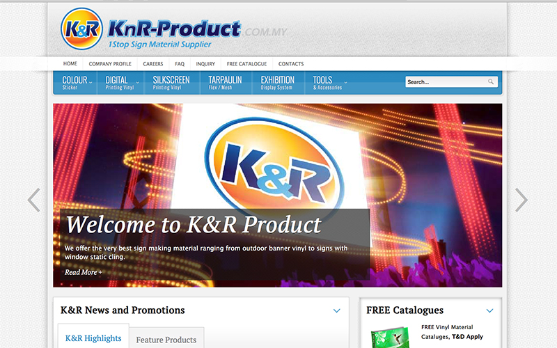 K&R Product